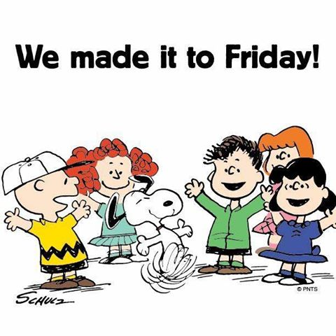 We made it to Friday